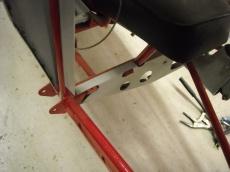 Rudder pedal mount details 003