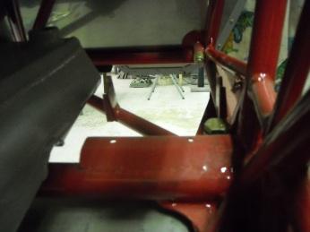 Rudder pedal mount details 004
