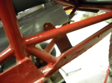 Rudder pedal mount details 005