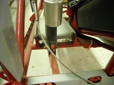 Rudder pedal mount details 006