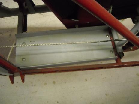 Rudder pedal mount details 008