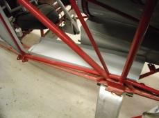 Rudder pedal mount details 009